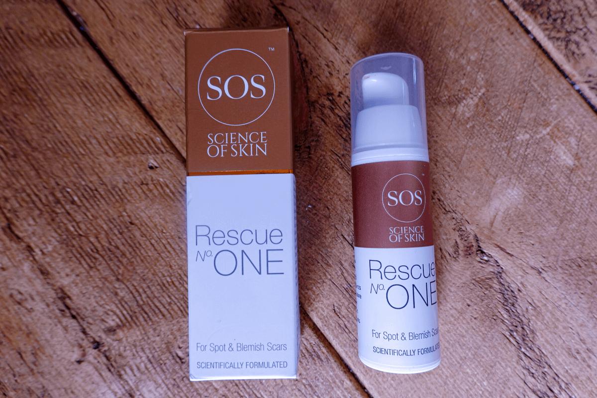 Rescue No. One acne scar cream