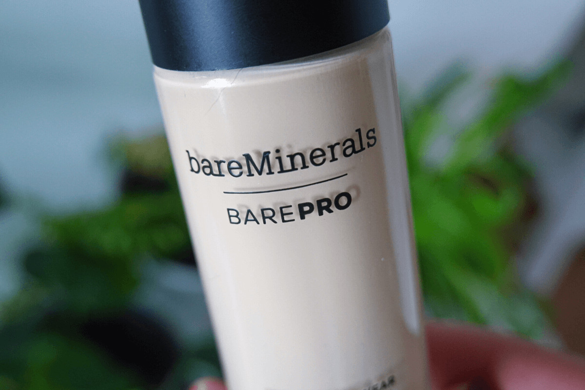 bareMinerals barepro foundation bottle