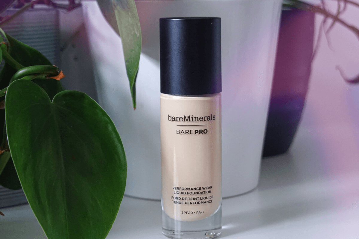 bareMinerals barepro for acne review