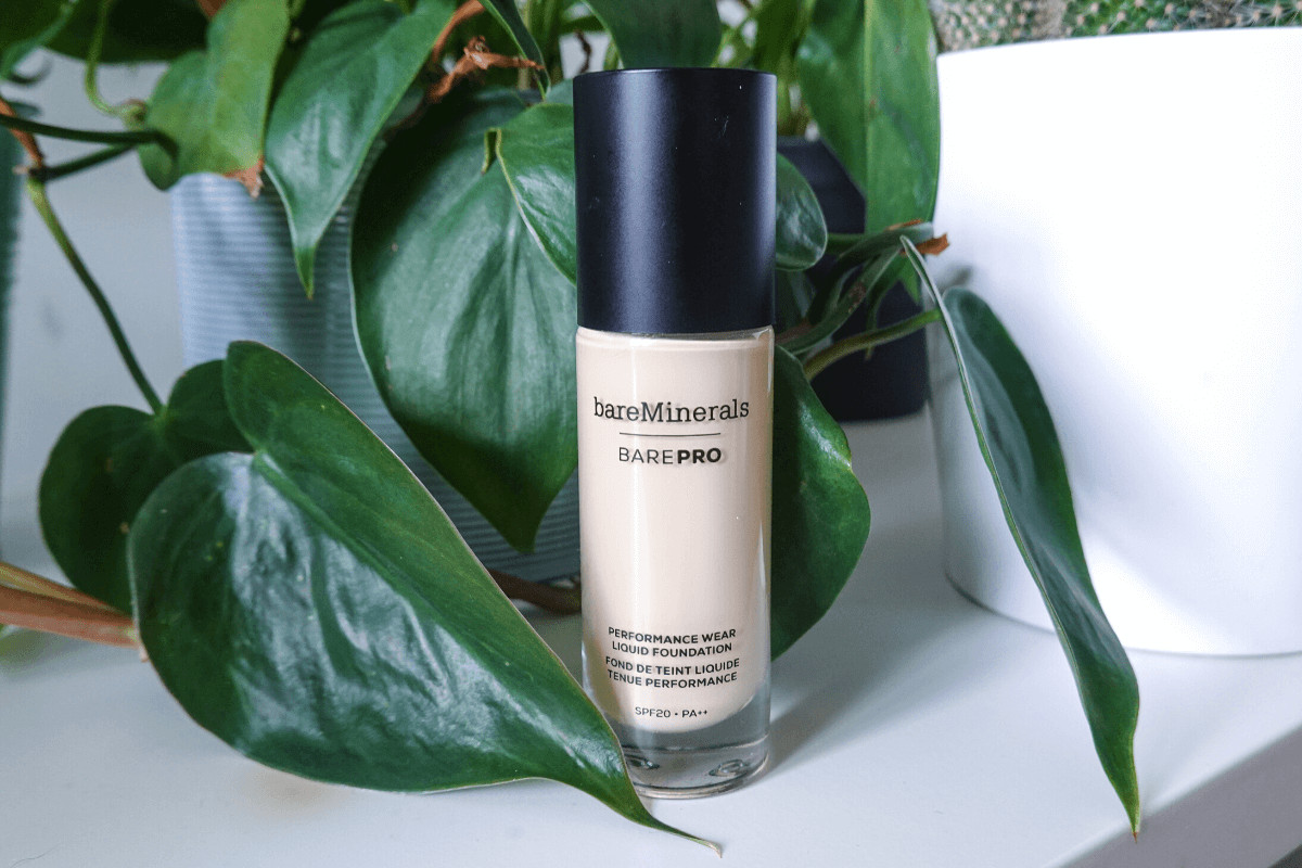 bareminerals barepro foundation for acne bottle