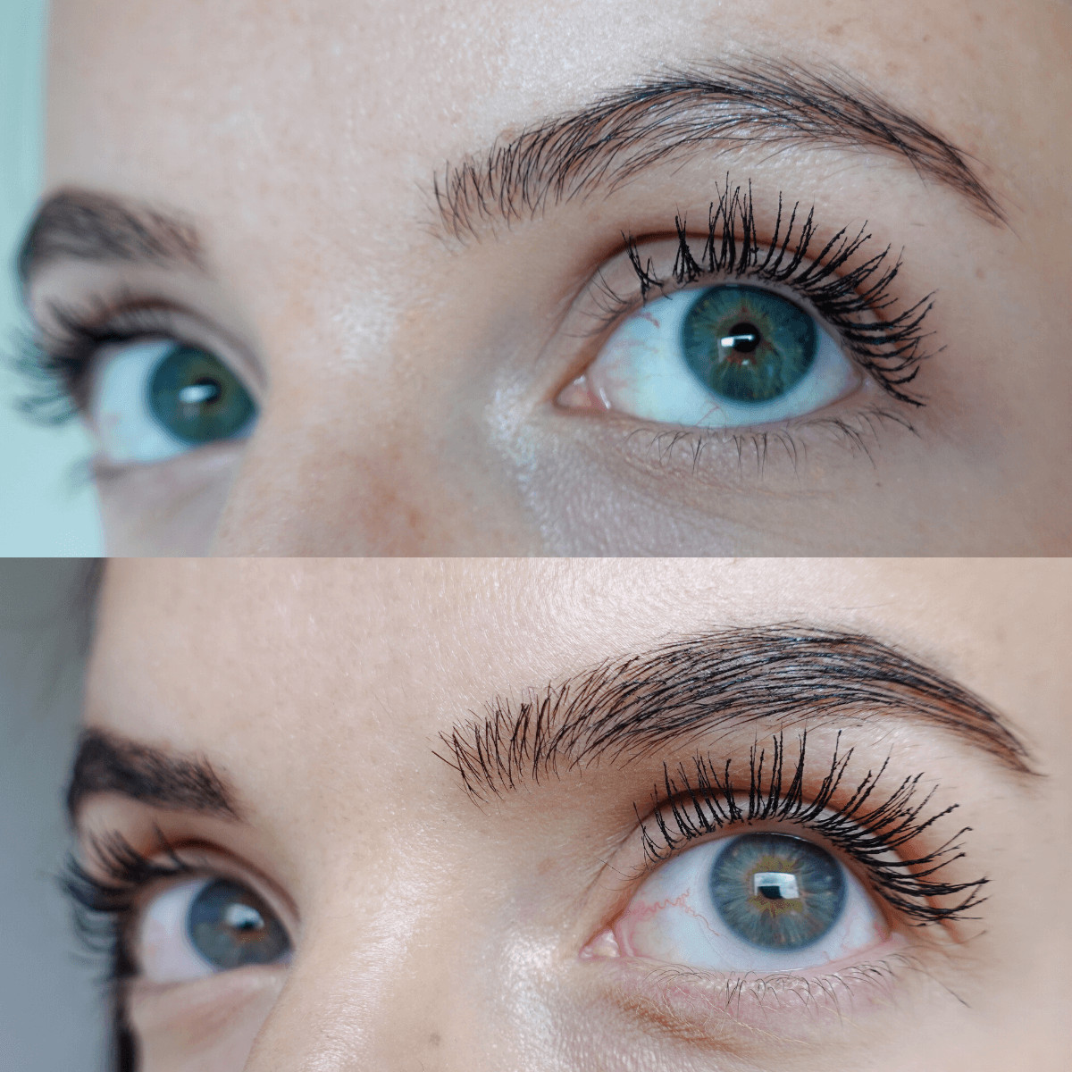 Benefit 24 Hour Brow Setter before and after