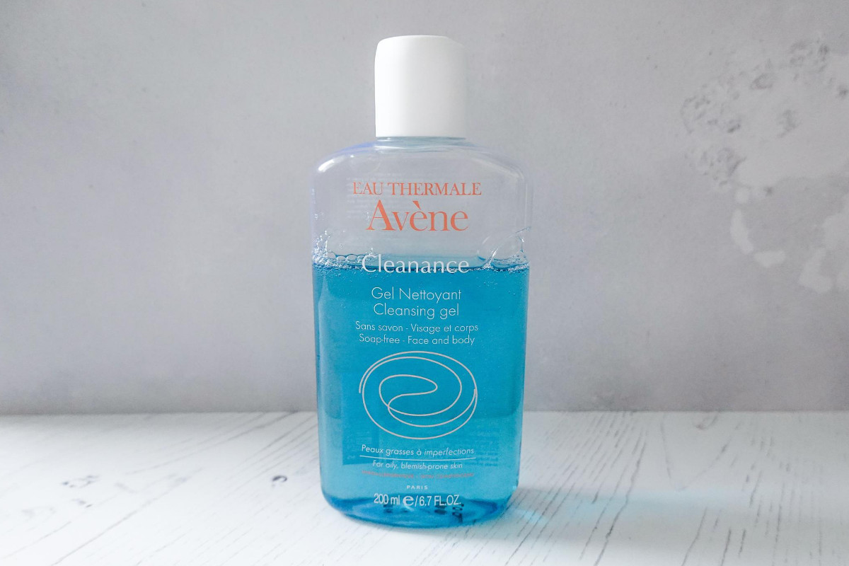 Avene Cleanance cleansing gel review