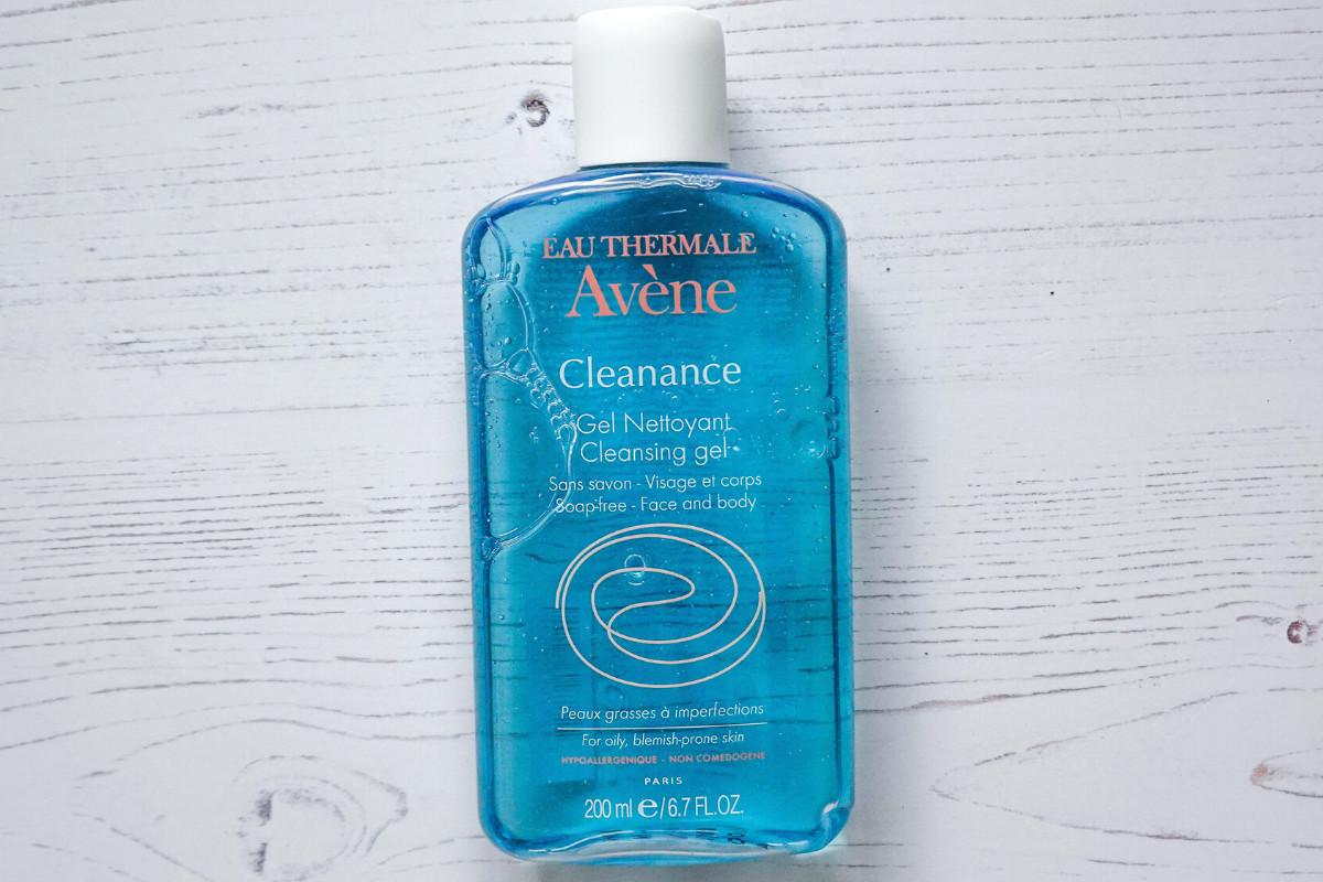 Avene Cleanance cleansing gel bottle