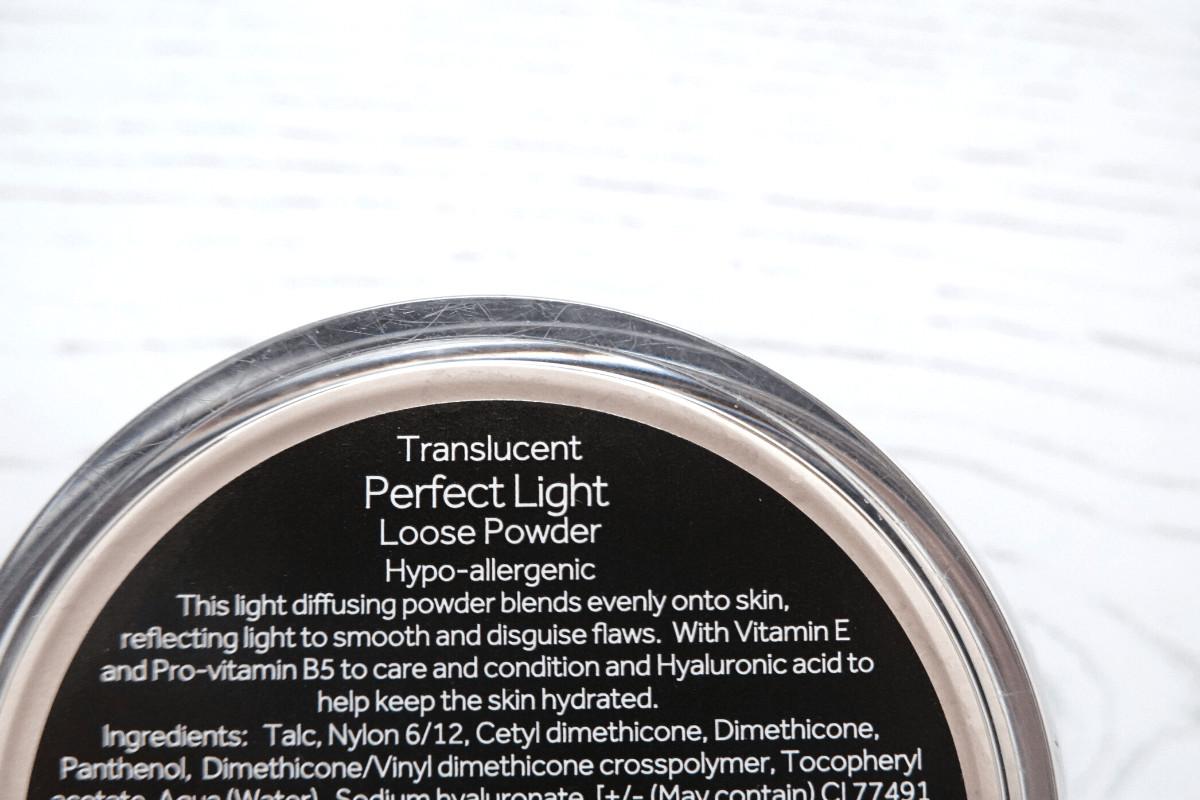 No7 perfect light setting powder ingredients