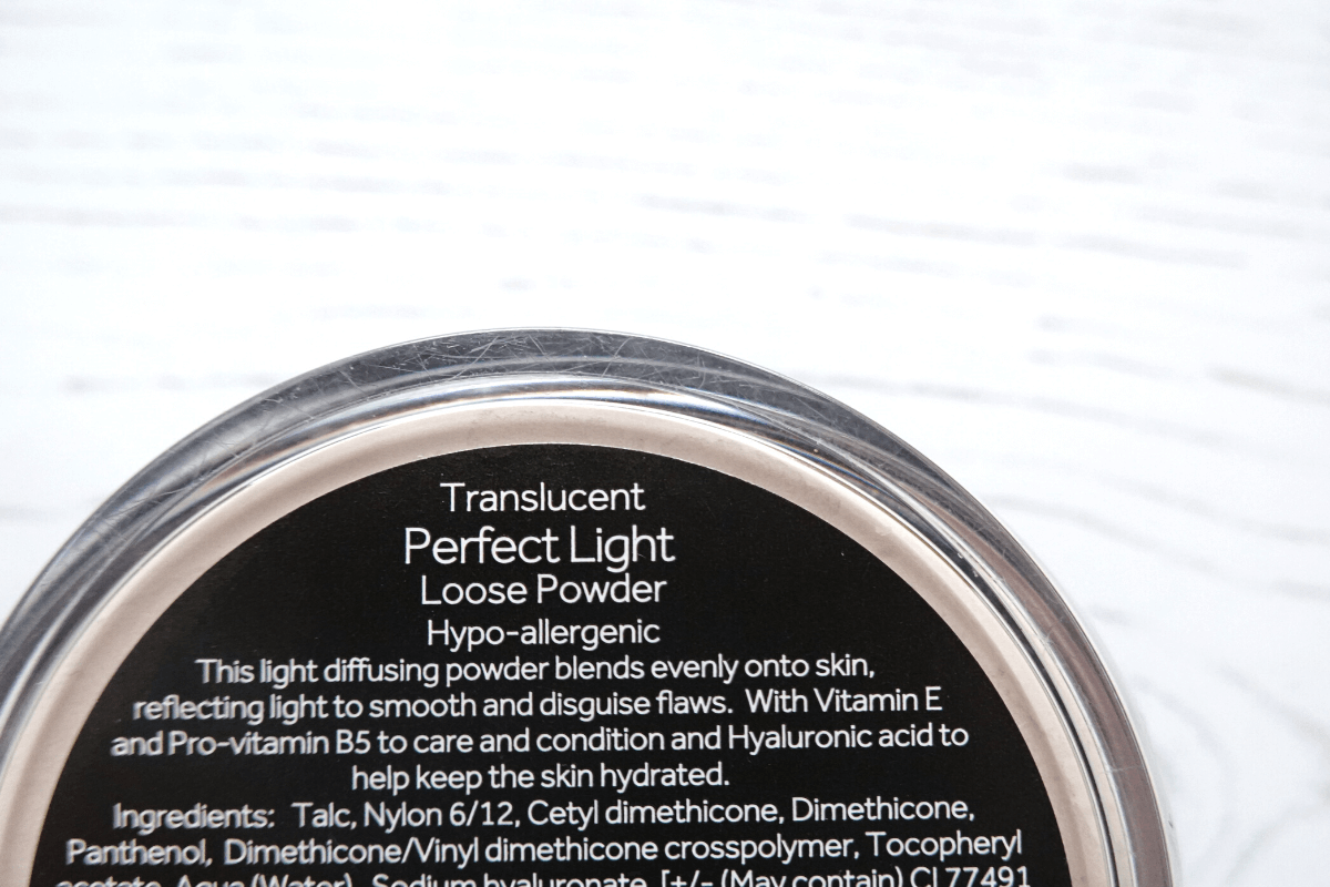 No7 perfect light setting powder ingredients