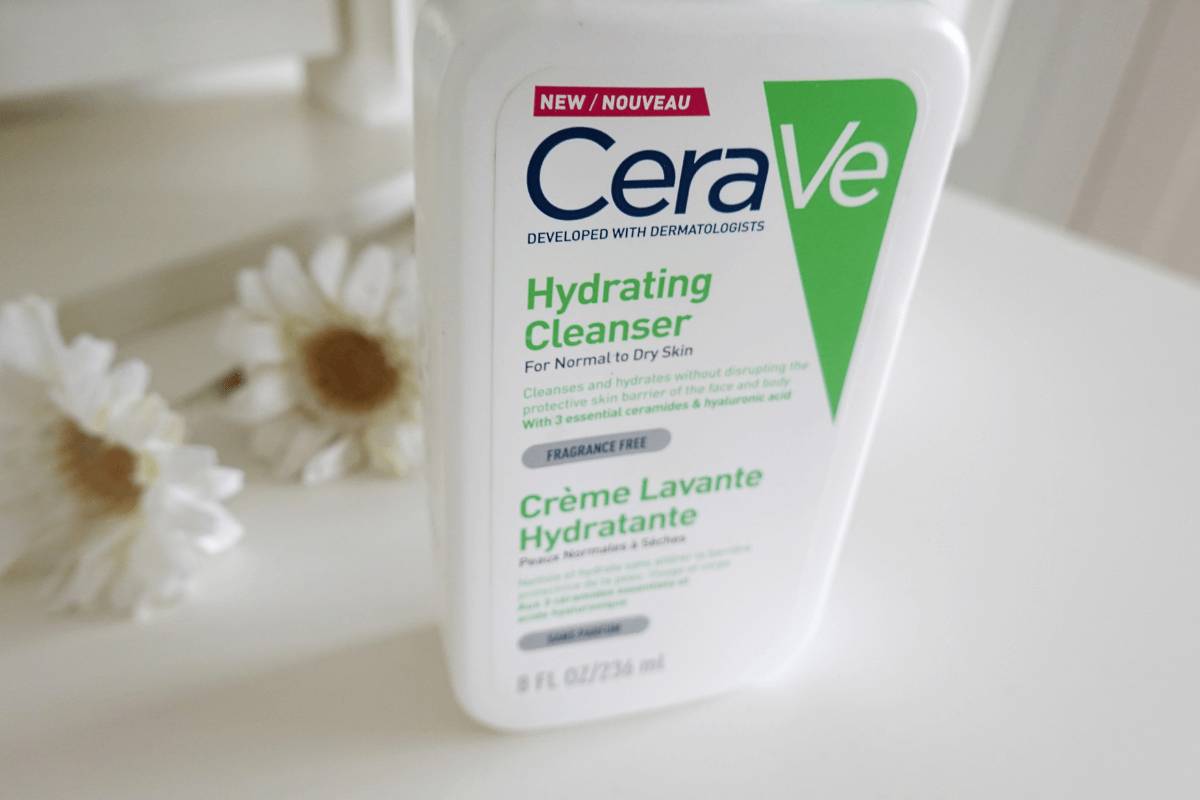 CeraVe Hydrating Cleanser Bottle