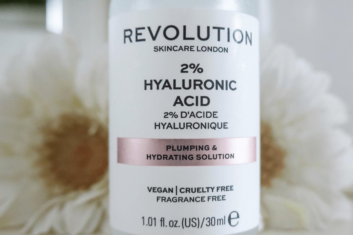 Revolution hyaluronic acid packaging